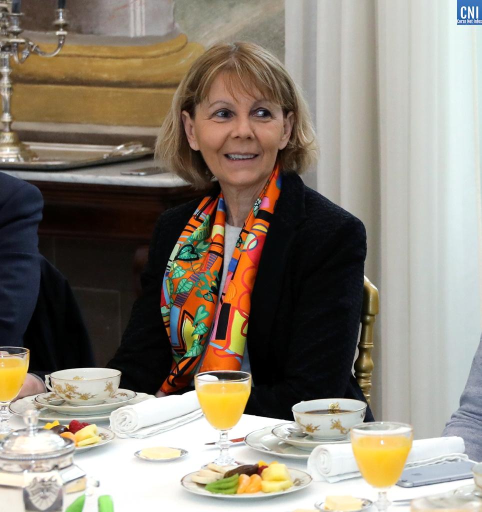 Josiane Chevalier: «Cette année doit être placée sous le signe de la solidarité»