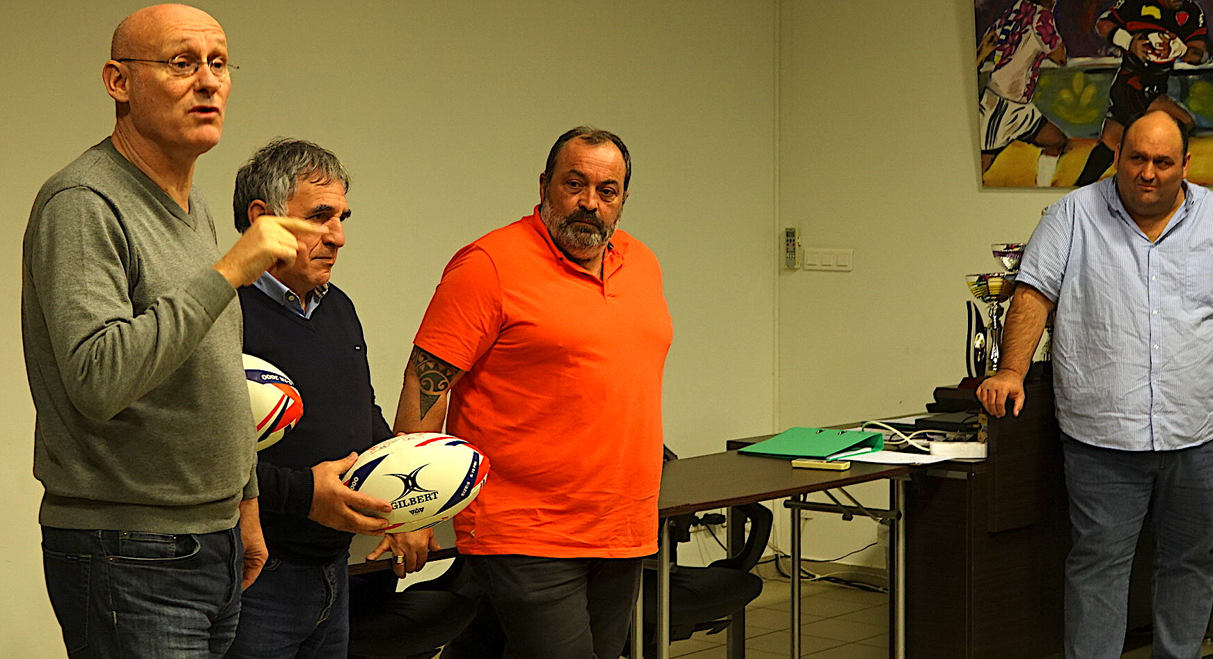 "Bernard Laporte à Lucciana : ""Le Rugby ne tue pas !"""