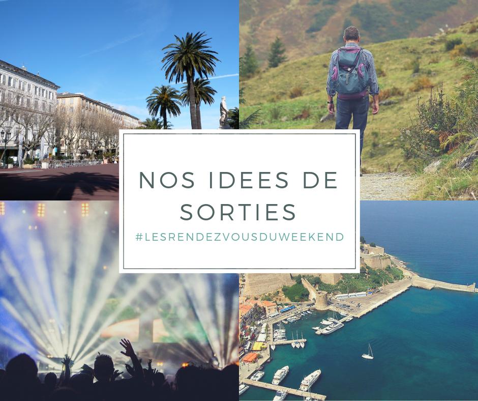 Les rendez-vous à ne pas manquer ce week-end en Corse du Sud