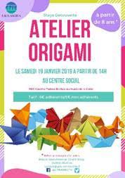 Stage d'Origami « l'art japonais du pliage en papier » à Corte
