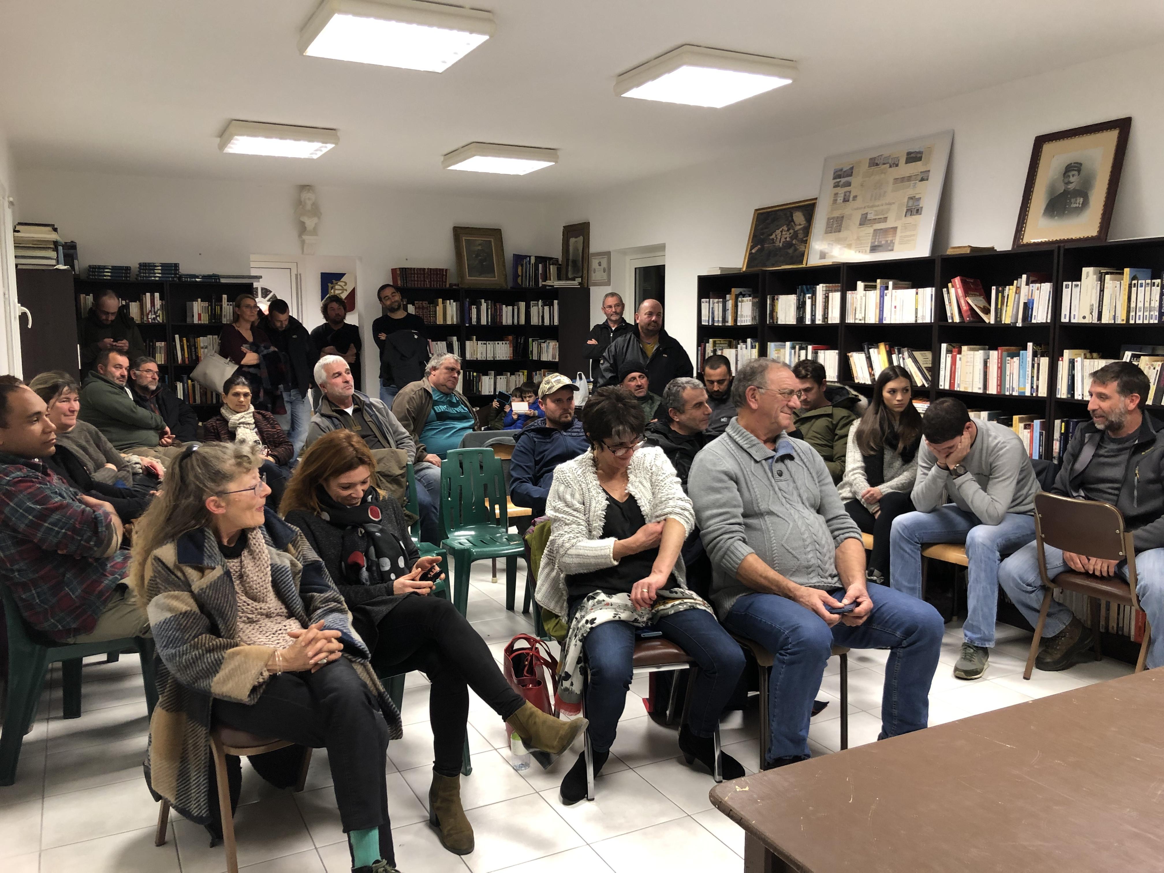 Renouvellement de la chambre de l'Agriculture de la Haute-Corse : Via Campagnola présente son projet à la mairie d'I Catari