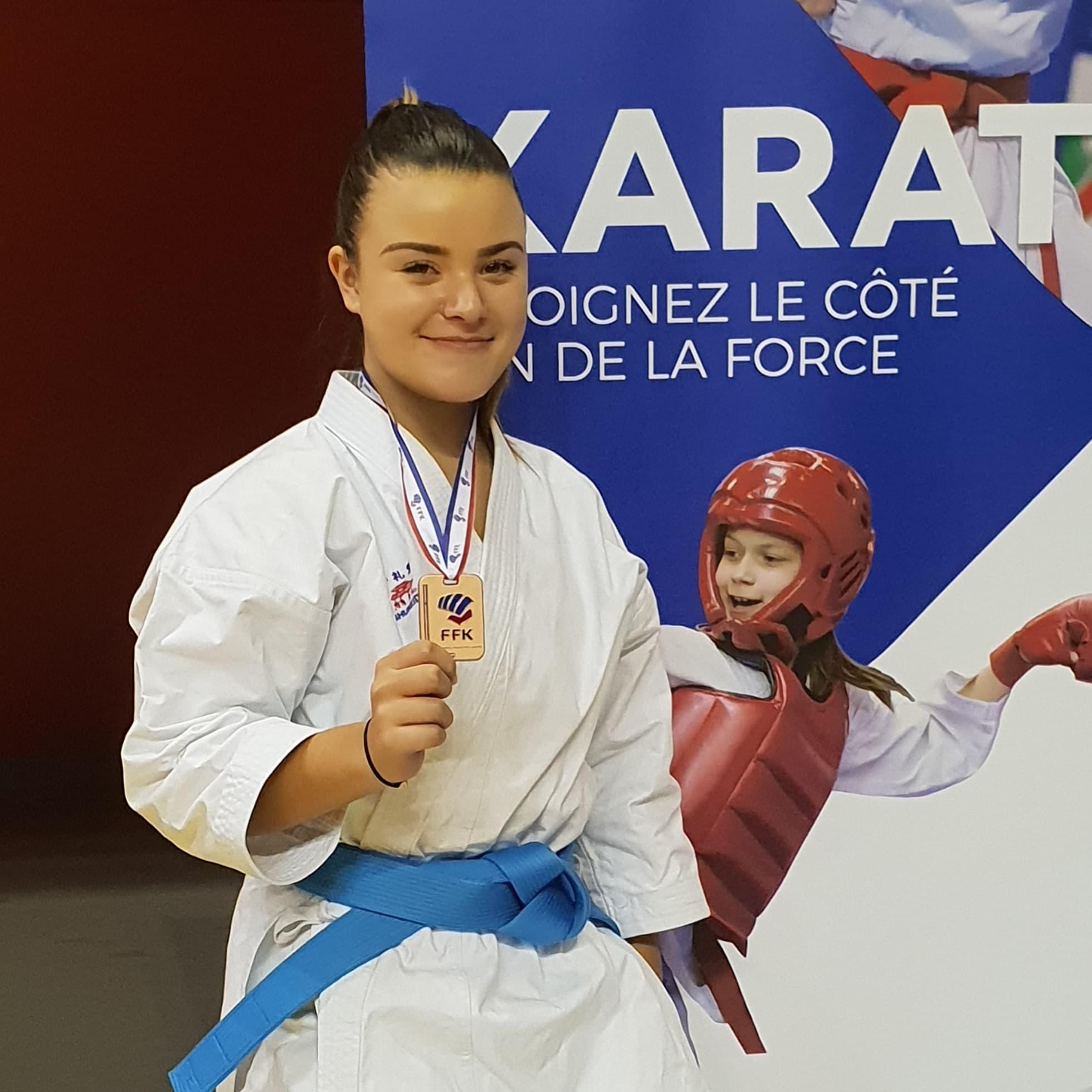 Karaté: Le bronze pour Cassandra Sampieri à l'Open de France