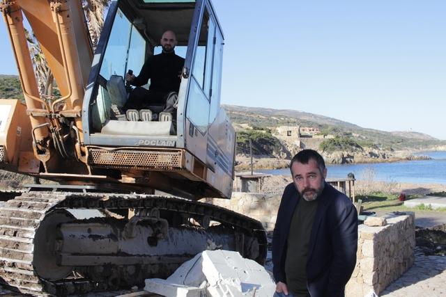 """Avec la démolition du """"Mara Beach"""" à Calvi c'est toute une page d'histoire qui se tourne"""