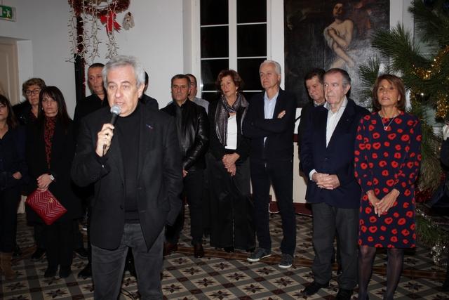 La mémoire de Jean Guglielmacci et Eric Rochault à la cérémonie des voeux de Calvi