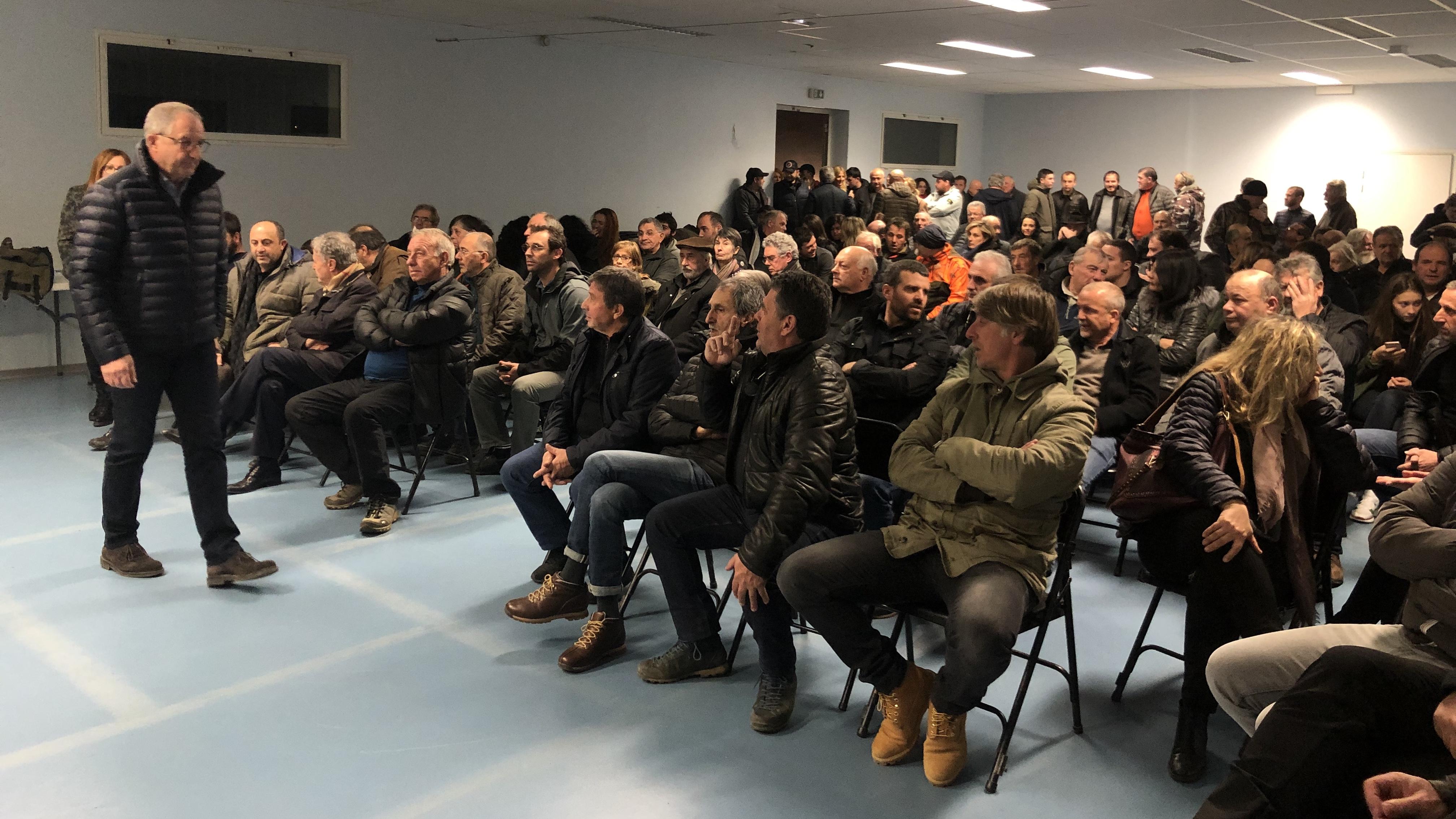 300 personnes à la présentation de la liste de la FDSEA 2B à U Viscuvatu