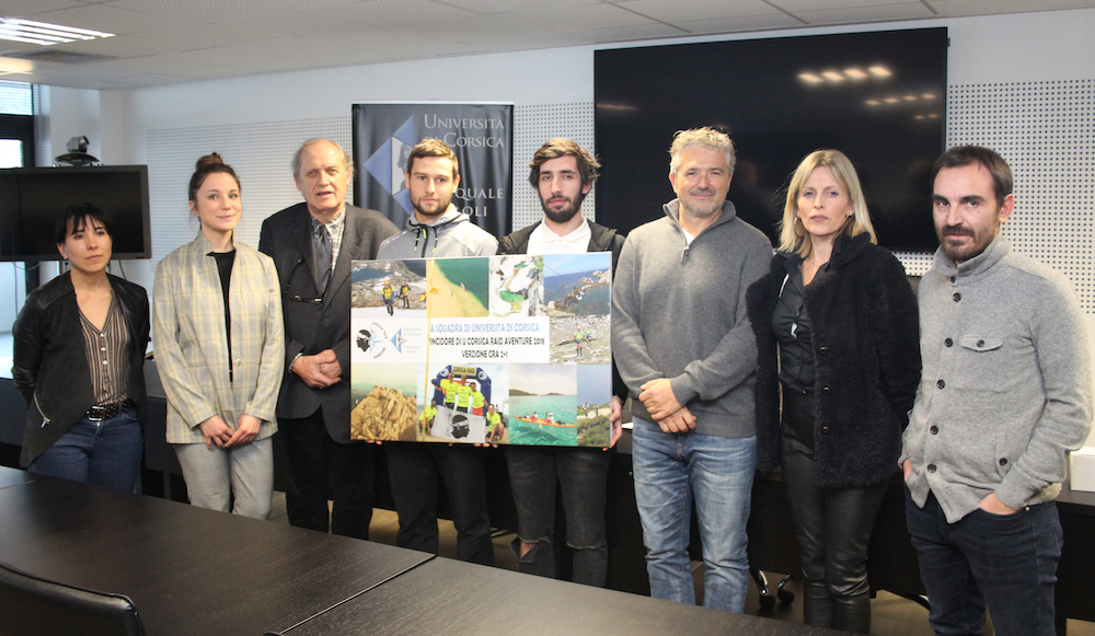 Università di Corsica : Les vainqueurs du Corsica raid aventure récompensés