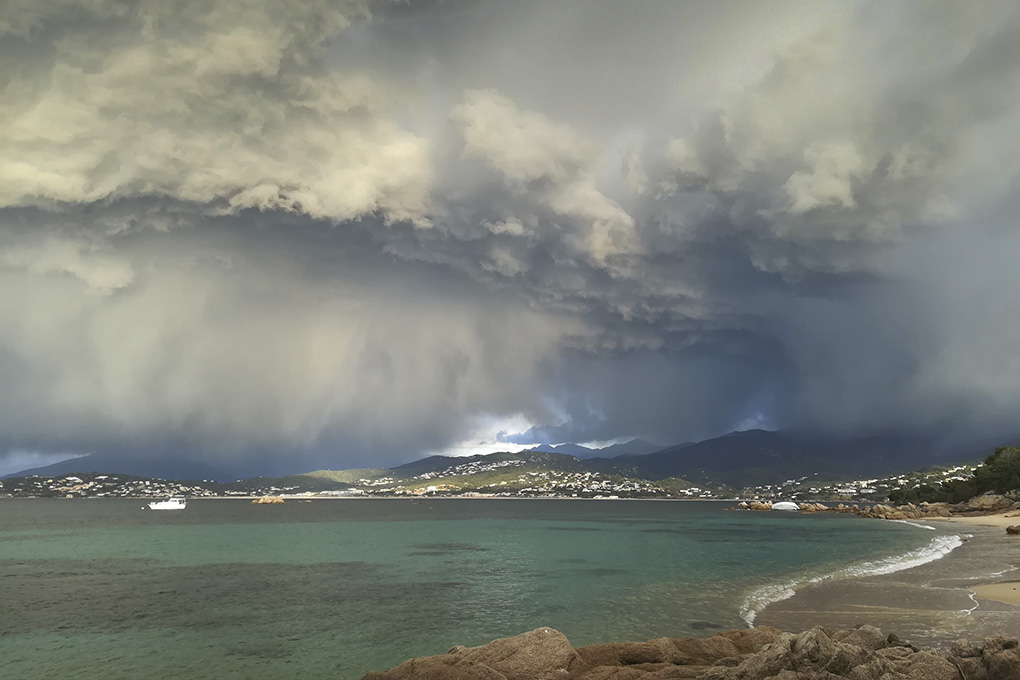 La photo du jour : Pietrosella, quand le ciel menace