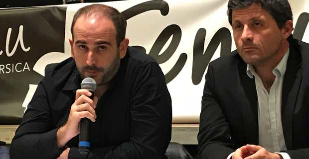 François Martinetti et Jean-Félix Acquaviva.