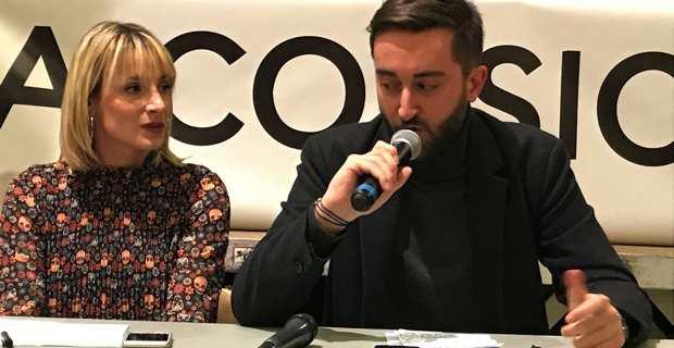 Antonia Luciani et Marc-Antoine Campana.