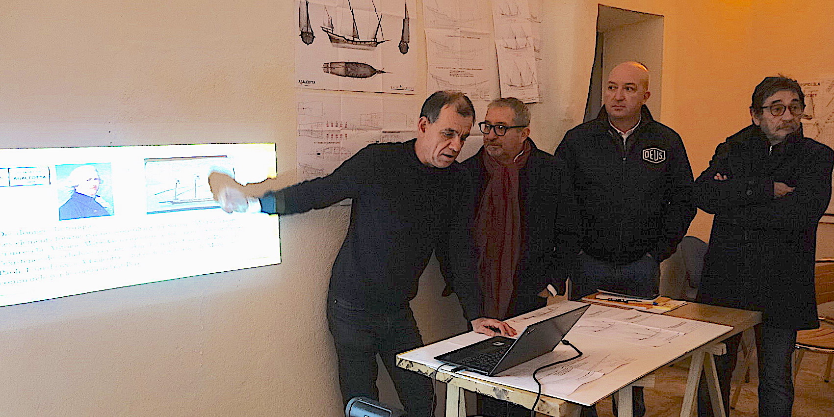 Bernard Cesari, Jean-Paul Paoli, Achille Raffalli, Charles Giudicelli