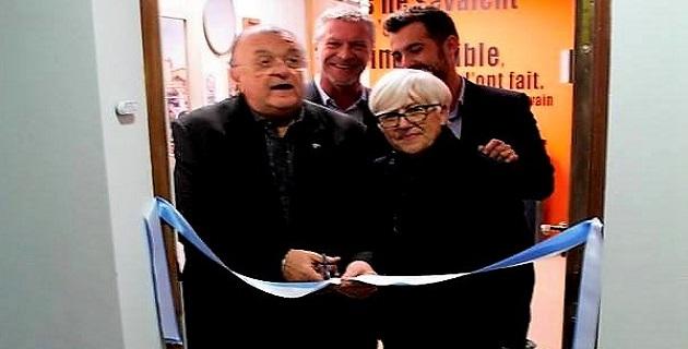 Inauguration des nouveaux locaux d'Opvalia en présence de son président J.Jules Miniconi