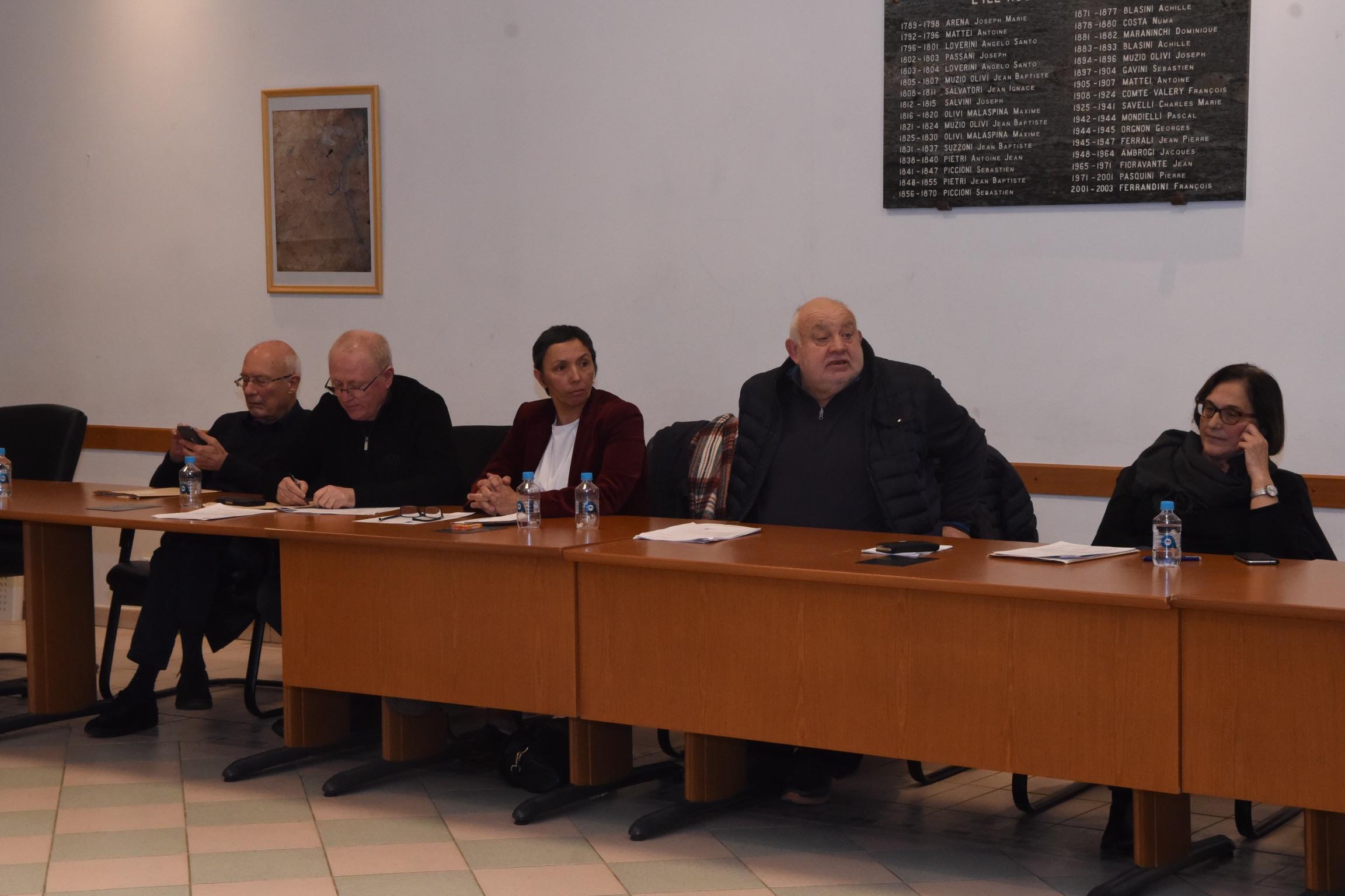 Encore un conseil municipal agité  à L'Ile-Rousse
