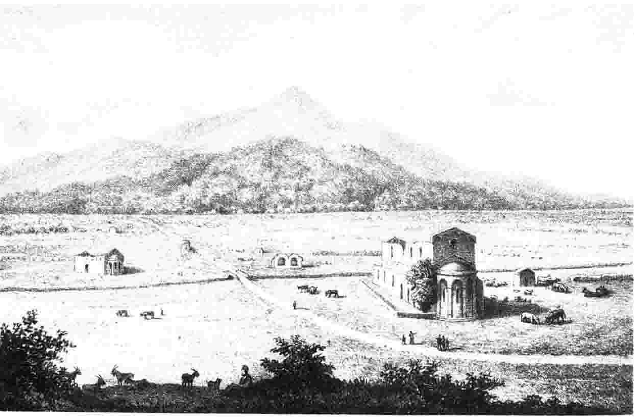 Les ruines de l'ancienne Mariana