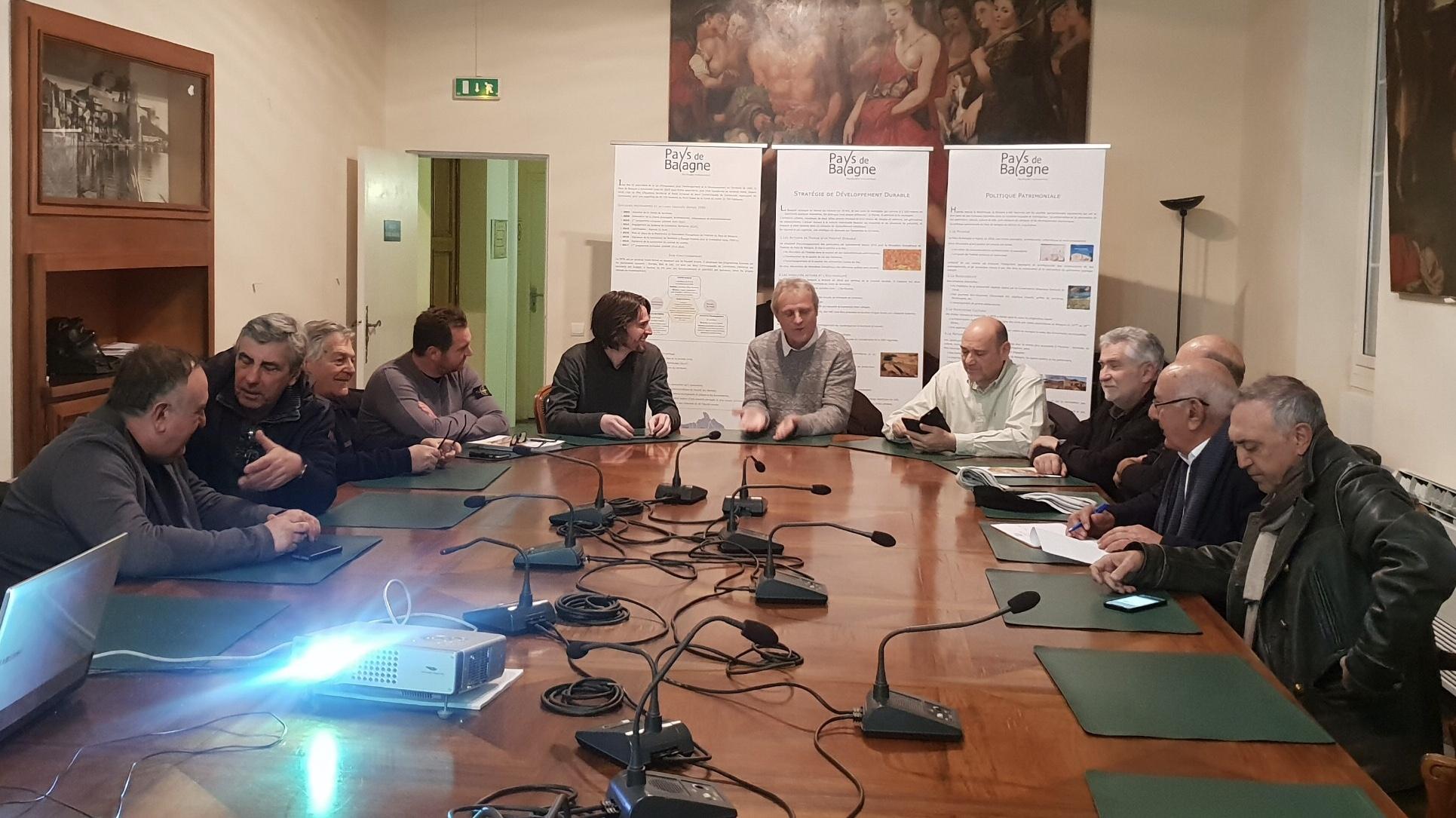PETR : Réunion de début d'année pour les maires de Balagne