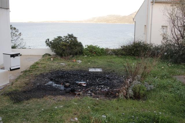 Fausse alerte pour une maison en feu  à Calvi