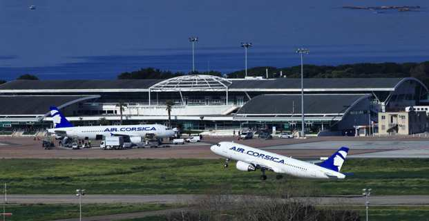 Le mauvais temps perturbe le trafic aérien à Figari