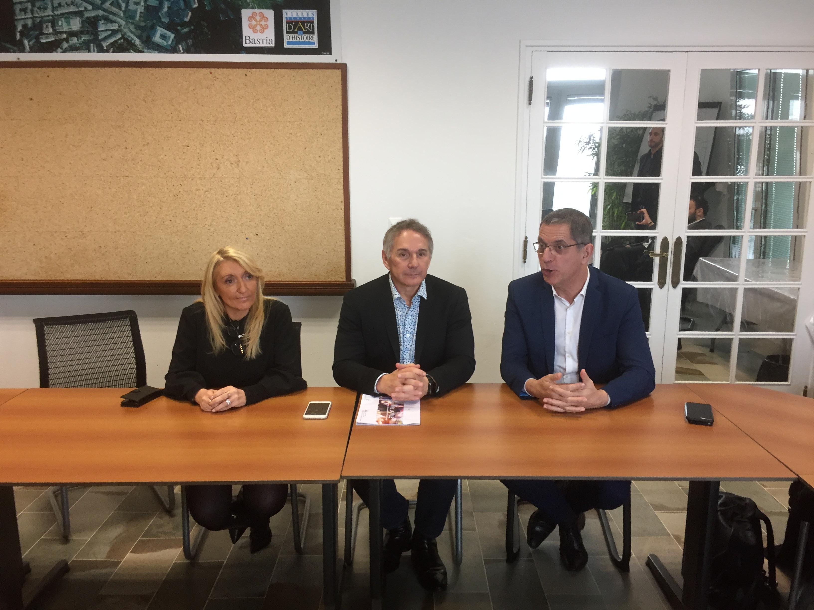 Bastia : Les projets de la ville sous l'œil du député Patrick Vignal