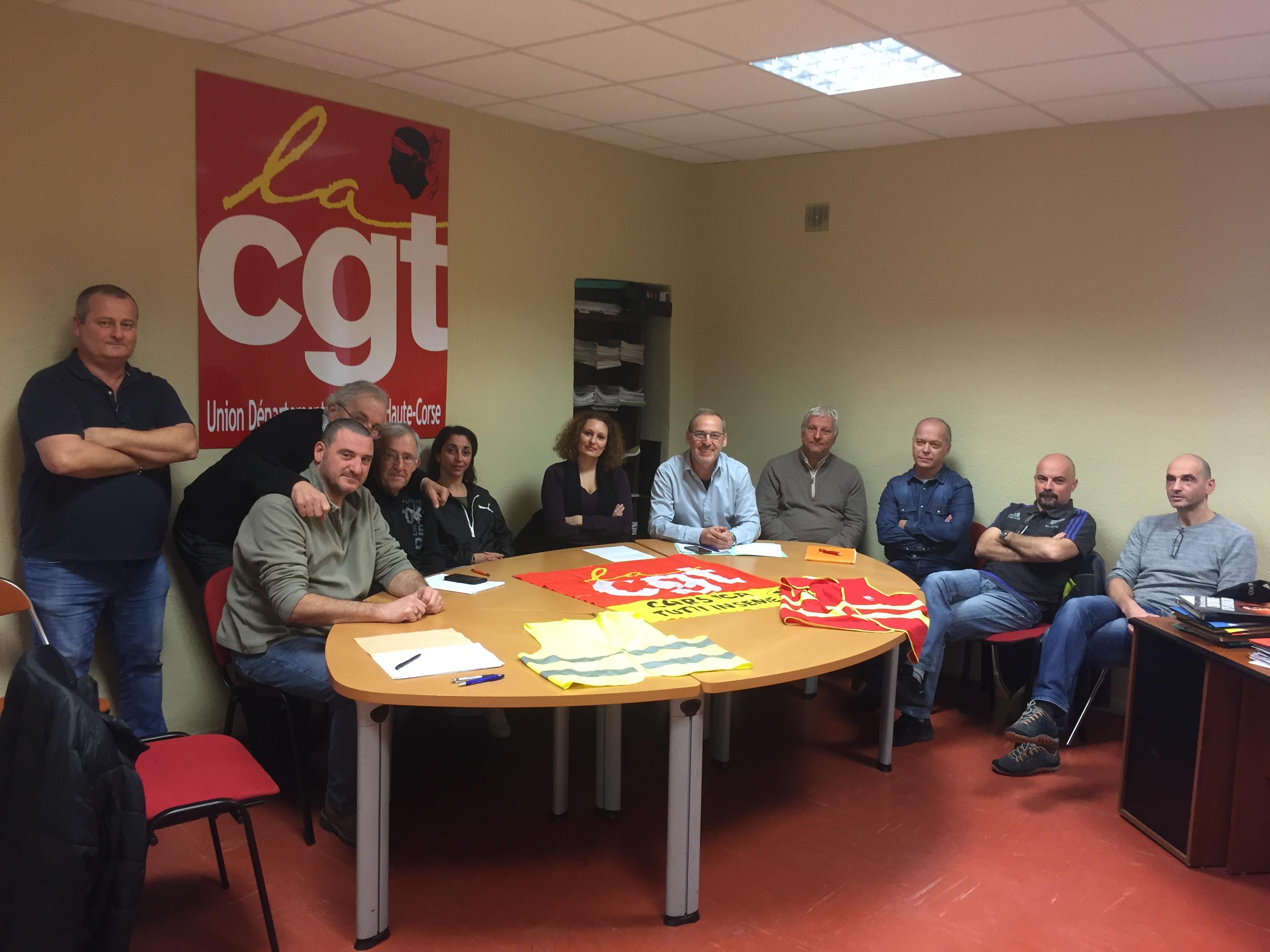 CGT et Gilets Jaunes autour d'une même table et ensemble dans la rue le 5 février