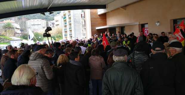 Sartène : L'union sacrée contre la fermeture des perceptions de Sartène et Levie