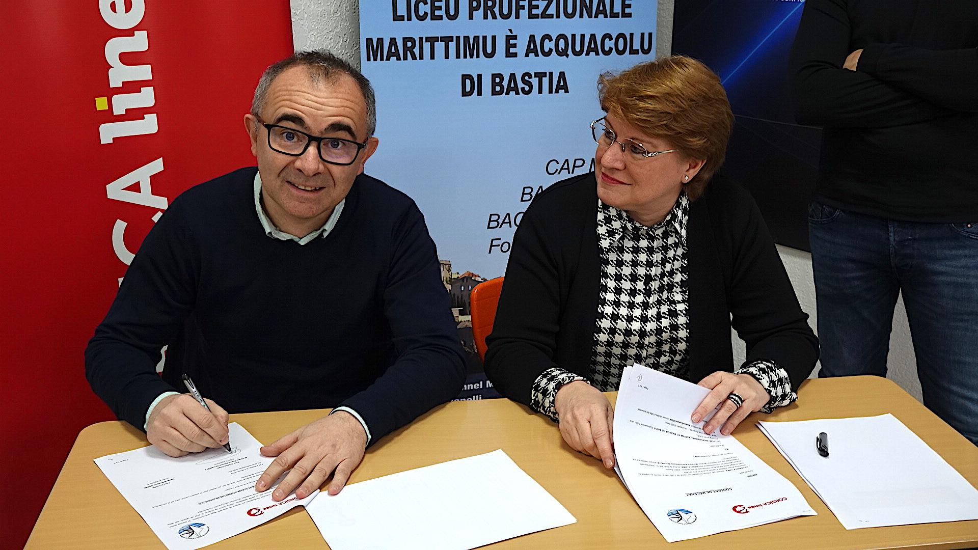 Pierre-Antoine Villanova et Evelyne Rossi