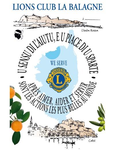 Spuntinu le 10 février du Lions Club de Calvi  au profit de l'association LEIA
