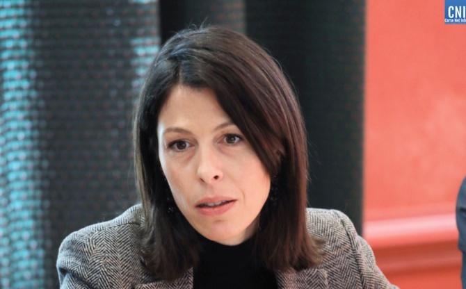 Julie Benetti, rectrice de l'académie de Corse
