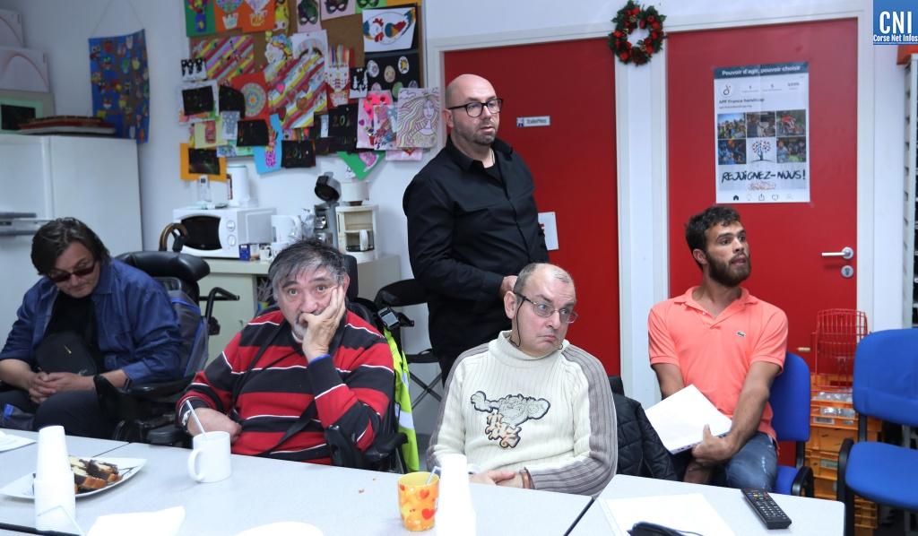 Ajaccio :  Remise de prix du grand jeu solidaire HANDIDON et « café élection » à l'APF
