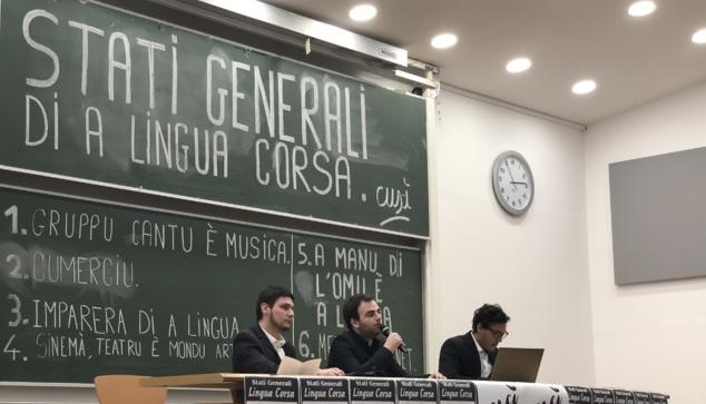 I stati generali di a lingua corsa : u corsu ùn hè mortu