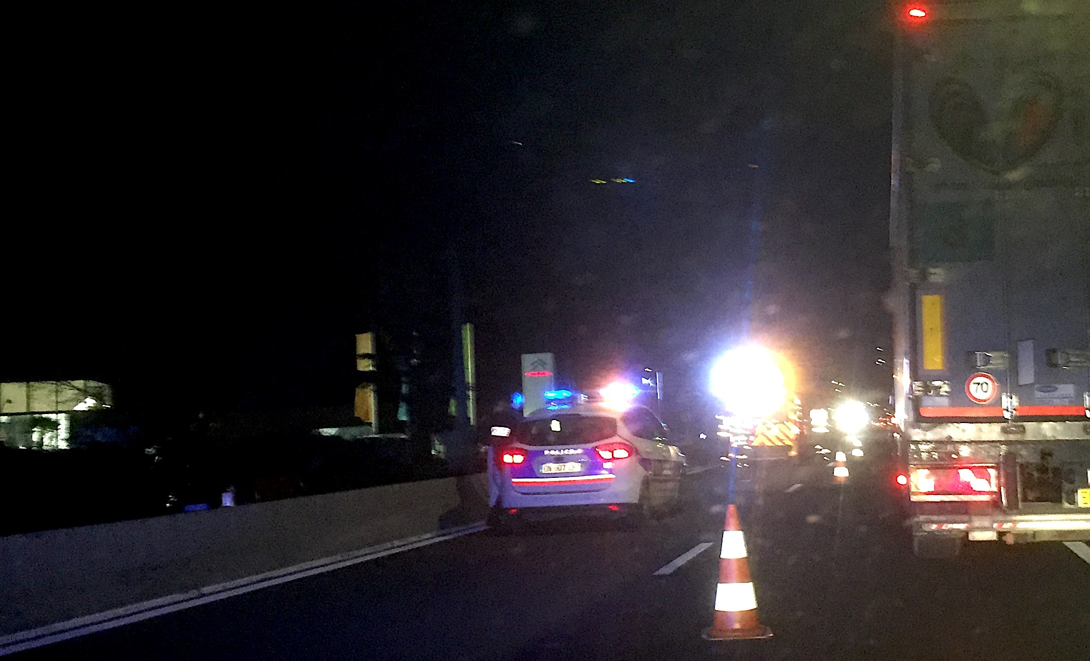 Biguglia : Accident de la circulation au rond-point de Ceppe