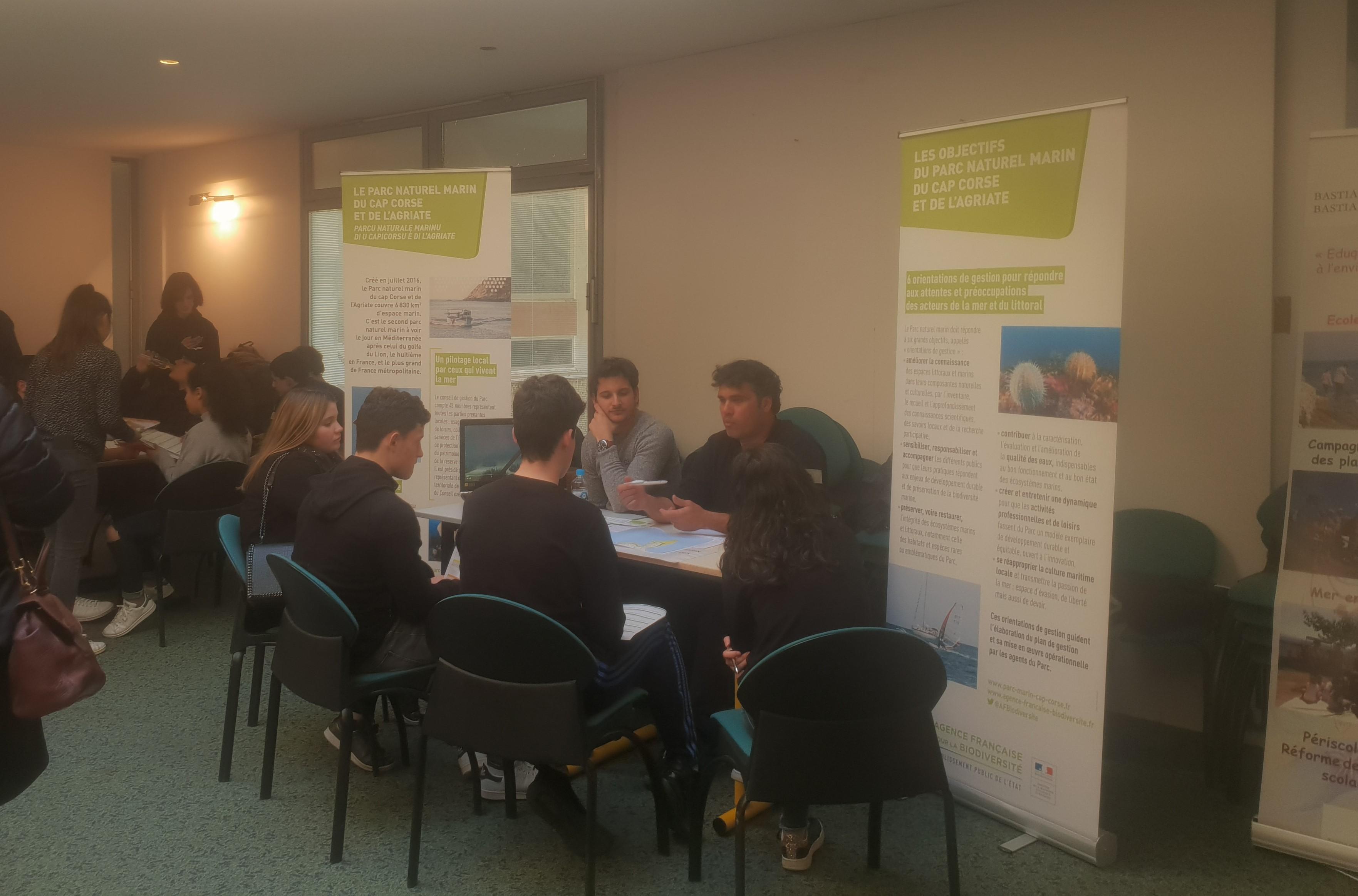 Bilinguisme et développement durable font bon ménage au Lycée Paul Vincensini de Bastia