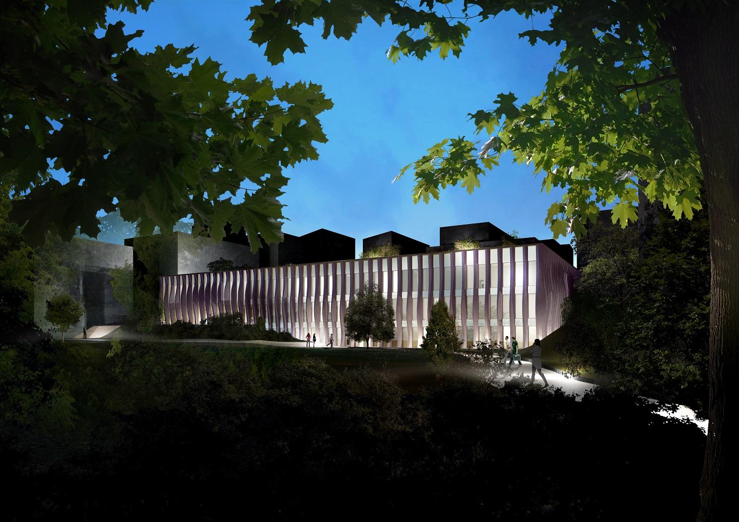 Ajaccio : Le Conservatoire Henri Tomasi bâti sur le site de l'ancien collège du Finosello