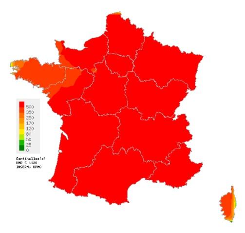 Grippe : Léger recul de l'épidemie en Corse