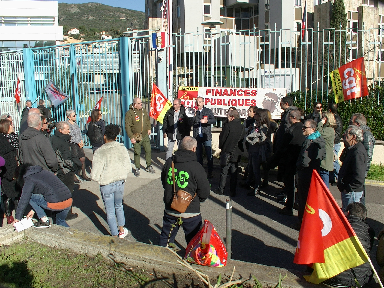 """Journée morte aux impôts  de Corse :  """"il faut préserver les services publics dans le rural"""""""