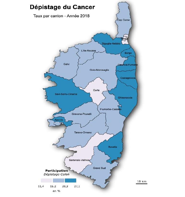 Trop peu de gens font appel au dépistage du cancer en Corse