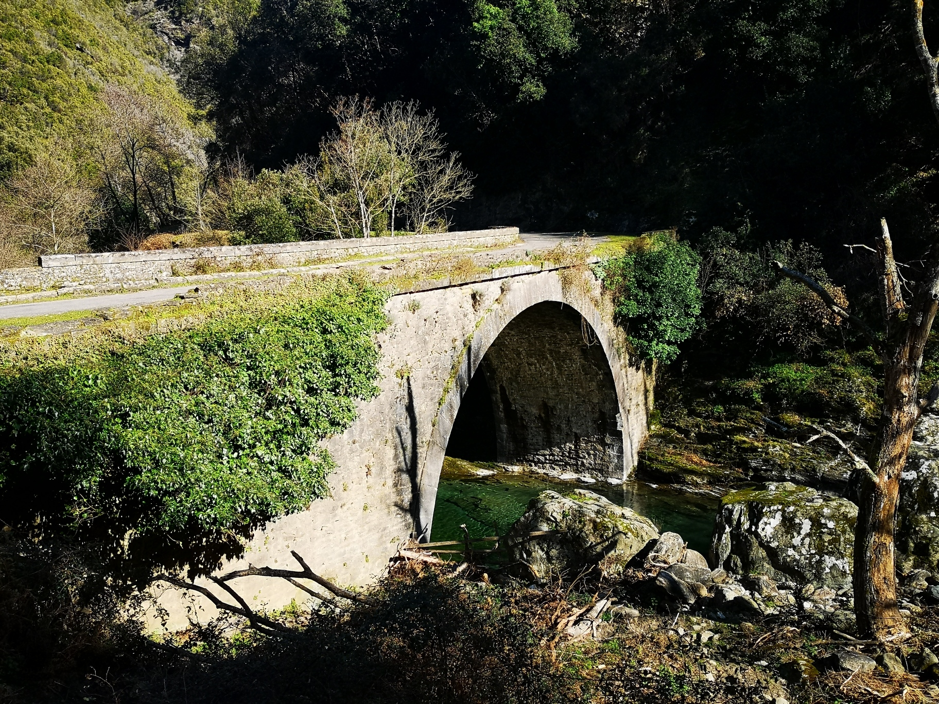 La photo du jour : U Ponte à l'infernu en Costa Verde