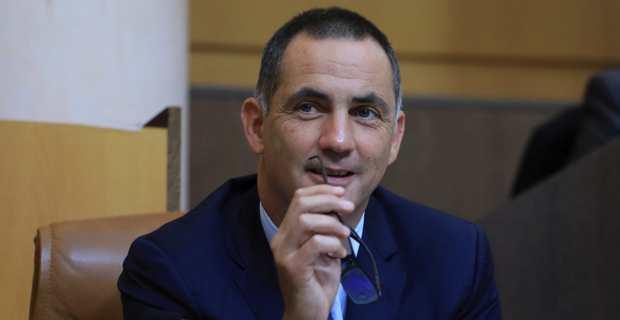 Le président de l'Exécutif corse, Gilles Simeoni.