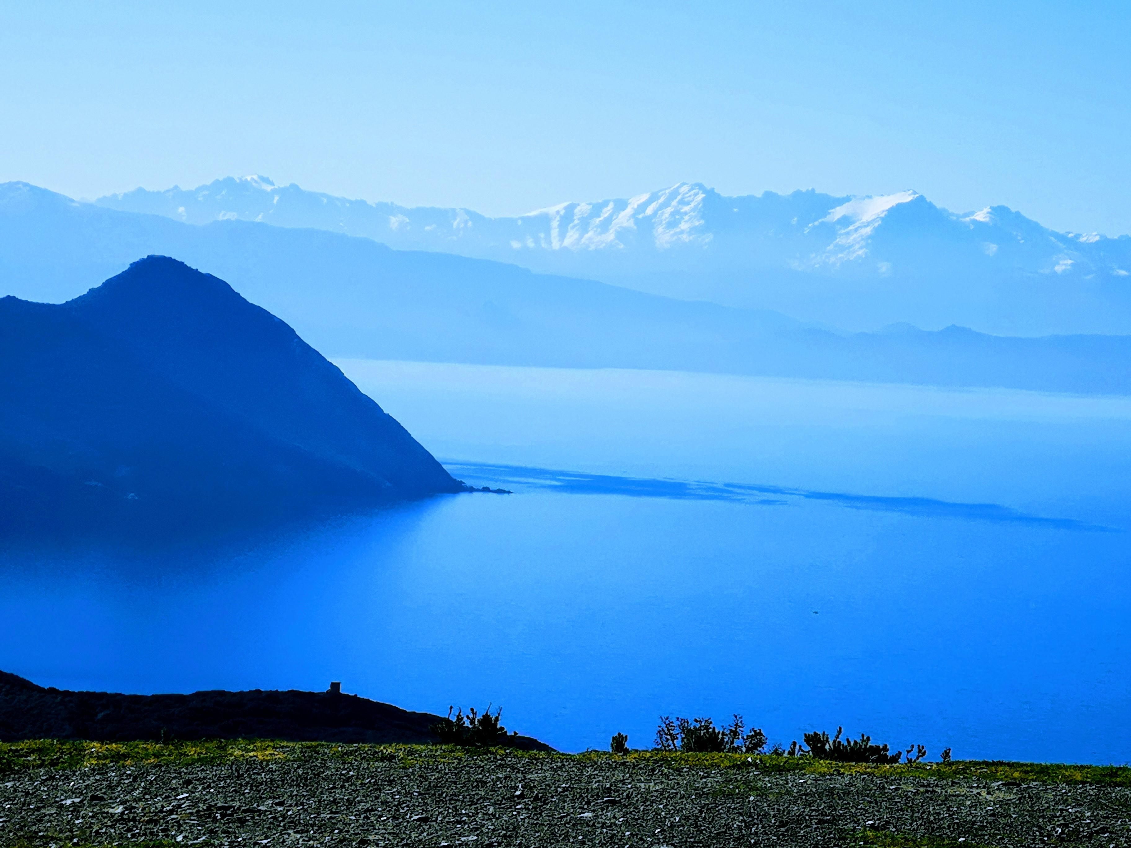 La photo du jour : muntagna corsa vista da Capi corsu