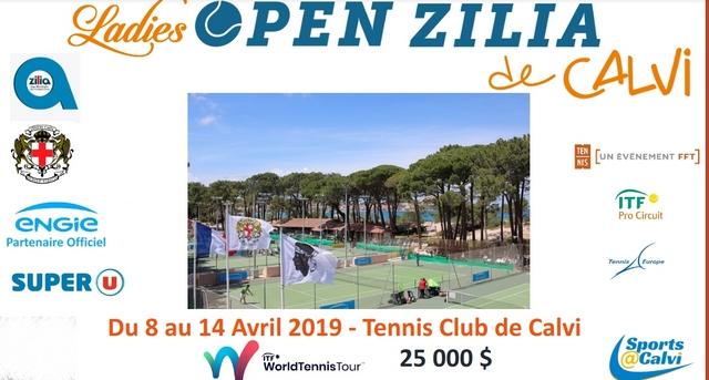 Tennis : Le Ladies Open Zilia de Calvi dans la dernière ligne droite