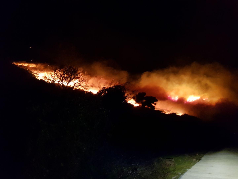 Le feu de Calenzana : impressionnant