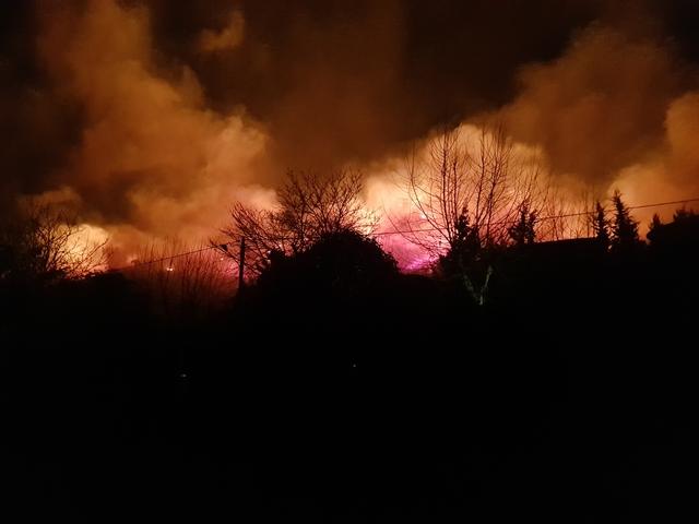 Incendies : Situation inquiétante à Calenzana. 45 hectares détruits à Sisco