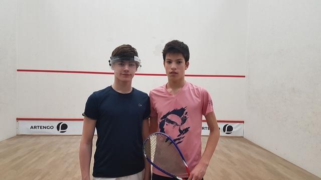 """Squash : Une première au French Open Junior de Lille pour """"Toto"""" Romieu en U15"""