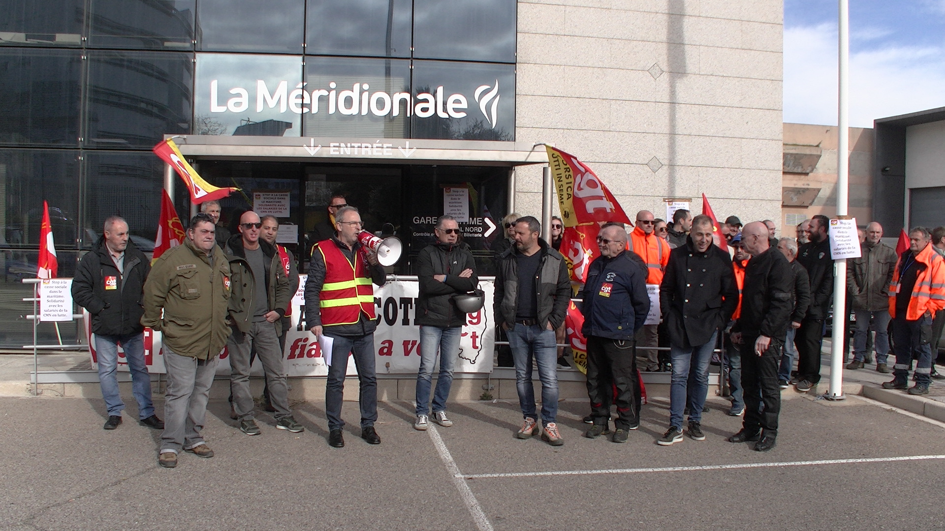 Méridionale : Mobilisation de la CGT et du STC à Bastia. Le Girolata bloqué à Ajaccio