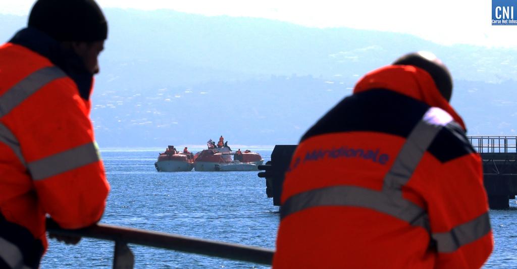 Conflit de La Méridionale: le port d'Ajaccio bloqué jusqu'à nouvel ordre!