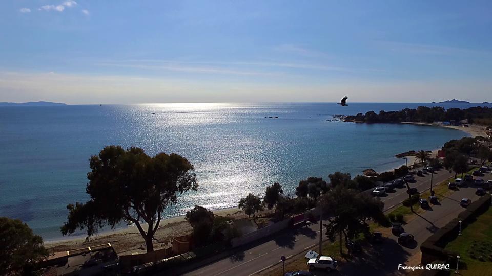 La photo du jour : Lumières de fin d'hiver sur le golfe d'Ajaccio