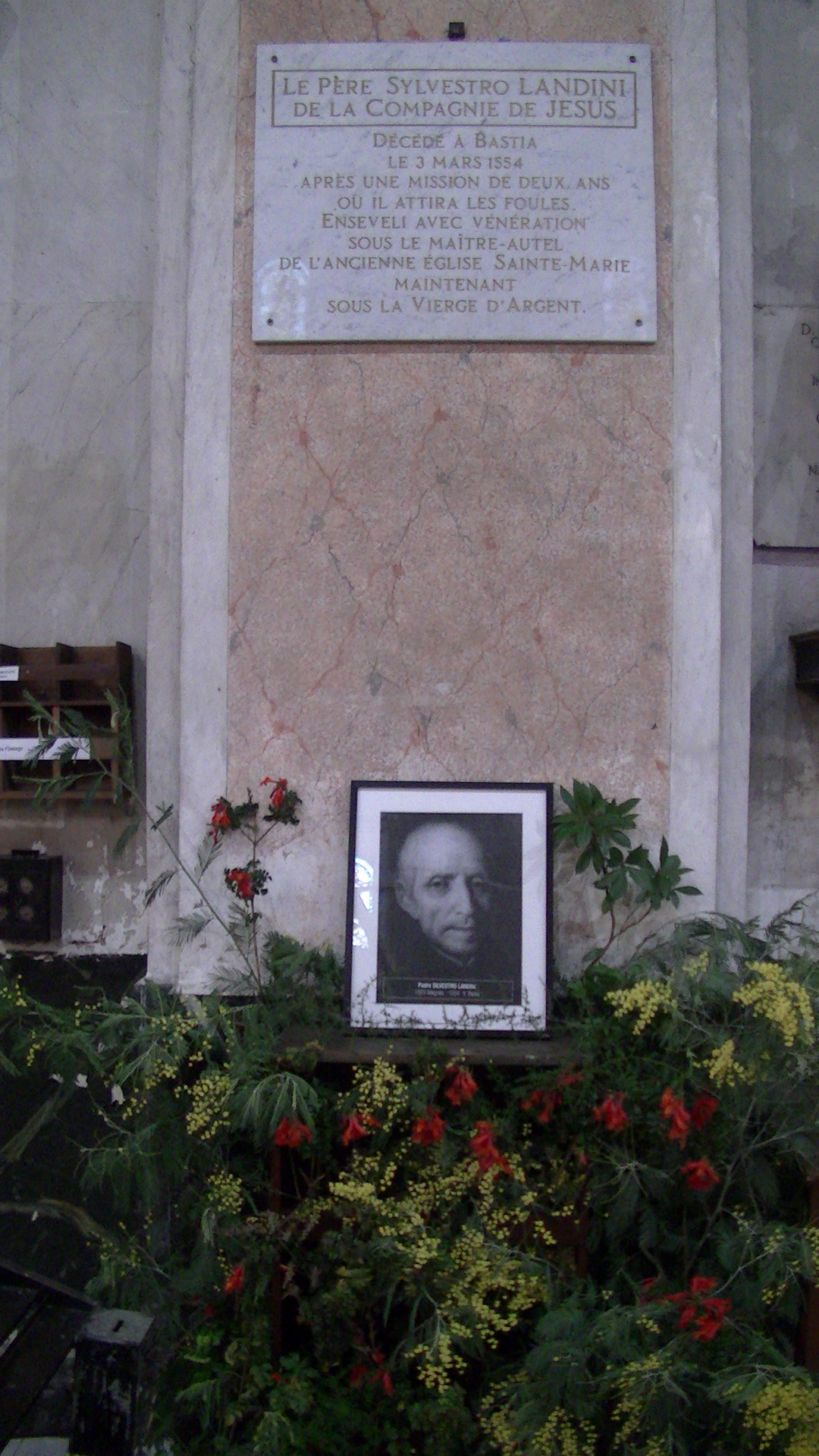 Santu Subitu : le jésuite Padre Silvestro Landini honoré à Bastia