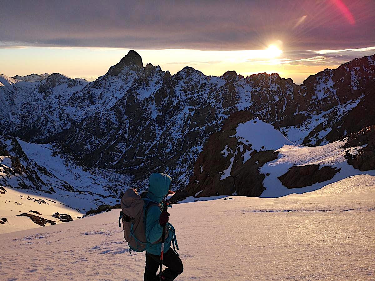 La photo du jour : Coucher de soleil sur Bocca Crucetta