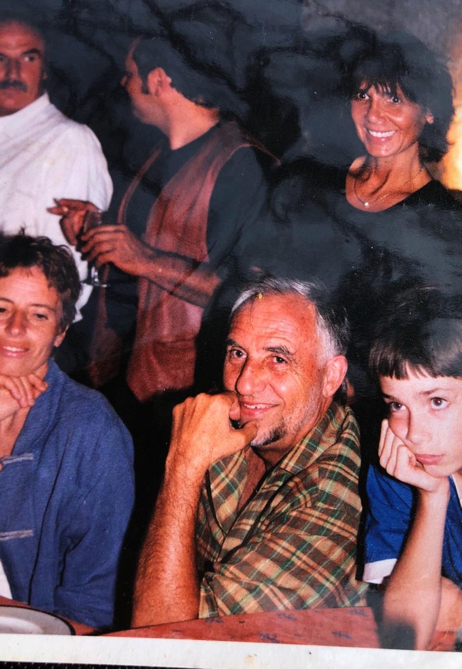 Jacques Loussier (au centre)