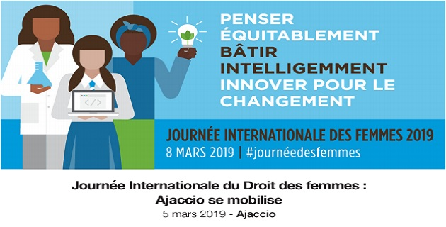 Ajaccio : Les événements prévus pour la journée des droits des femmes