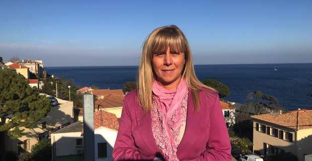 Marie-Hélène Padovani, conseillère territoriale du groupe Andà Per Dumane et conseillère municipale de San Martino di Lota.