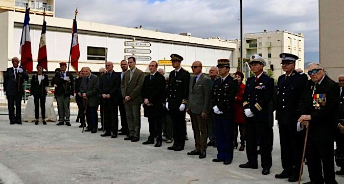 L'hommage aux médaillés militaires à Ajaccio